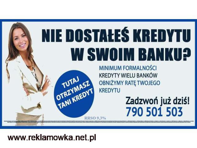 Kredyt oddłużeniowy, bez zbędnych formalności do 200 tys. Akceptujemy Bazy - 1/1