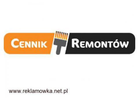 Zobacz, jak zmienia się cennik remontowy z Cennik Usług Remontowych