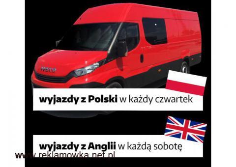 Polska- Anglia busy
