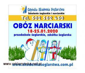 OBÓZ NARCIARSKI - TERMIN 18-25.01.2020-