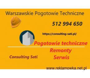 Pogotowie techniczne – Remonty - Serwis