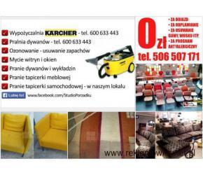 506 507 171 Pranie Tapicerki Meblowej Kraków - czyszczenie dywanów / wykładzin u Klienta DOJAZD 0ZŁ