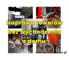 Naprawa rowerów bez wychodzenia z domu 607715169 / Serwis Mobilny
