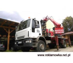 Usługi dźwigiem na Podhalu - Nowy Targ i Zakopane