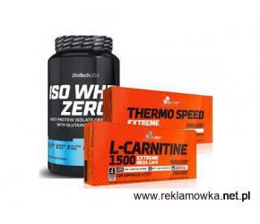 PROMOCJA! Zestaw - Iso Whey + Thermo Speed + L-Carnitine KOD: spalanie