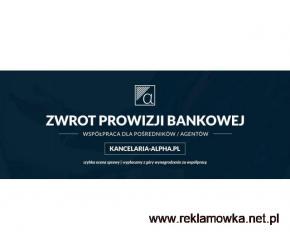 Zwrot prowizji bankowej - Współpraca dla pośredników/agentów