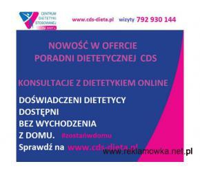 PORADY DIETETYKA PRZEZ INTERNET KONSULTACJE PORADNIA CDS BIAŁYSTOK