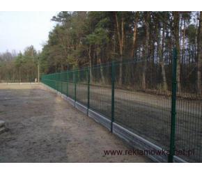 montaż ogrodzeń panelowe systemowe wraz z materiałem