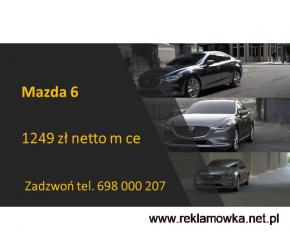 Mazda 6  nowa