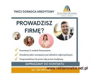 Kredyt dla Firm Warszawa ,całe Mazowieckie, na bieżące Finansowanie i realizację planów inwestycyjny