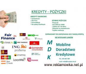 Kredyty -Pożyczki bez gwiazdek i opłat wstępnych