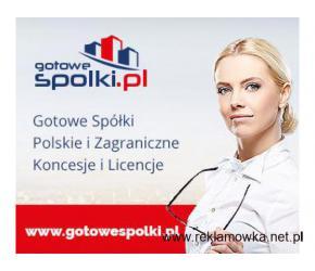 Gotowa Spółka w Holandii, w Belgii, w Niemczech, w Hiszpanii w Anglii, Bułgaria Słowacja 603557777