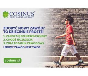 Trwa rekrutacja do Darmowych Szkół Cosinus. Zdobądź zawód to dziecinnie proste!