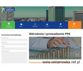 Prowadzenie PPK - Vattax.pl