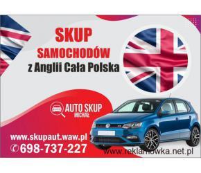 Skup Anglików,Skup Aut z Anglii #Łódź i Okolice# Najwyższe Ceny !
