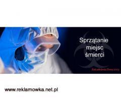 Usuwanie fetoru po zmarłych zwłokach sprzątanie dezynfekcja