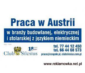 BUDOWLANIEC /AUSTRIA / WYJAZDY W KAZDA NIEDZIELE