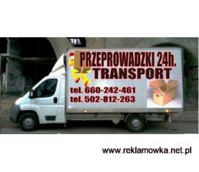 usługi transportowe przeprowadzki tragarze wywóz mebli