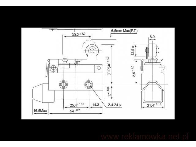 Mikorprzełącznik AZ-7141 , łącznik krańcowy