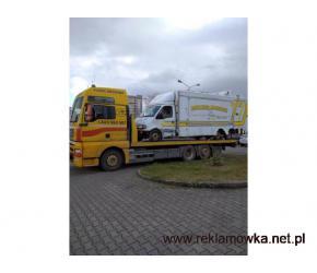Transport Maszyn Samochodów Laweta Pomoc drogowa Luboń