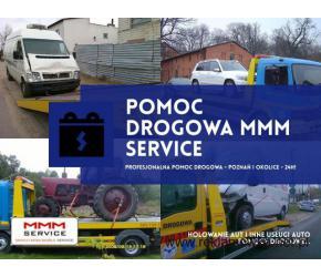 Doświadczone holowanie aut w Poznaniu - MMM Service
