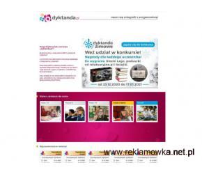 Dyktanda.pl - dyktando online
