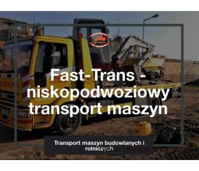 Profesjonalny transport wózków widłowych - Fast-Trans
