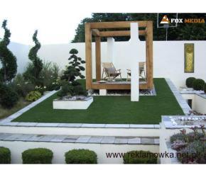 Projektowanie ogrodów, zakładanie ogrodu, oczka wodne, trawa