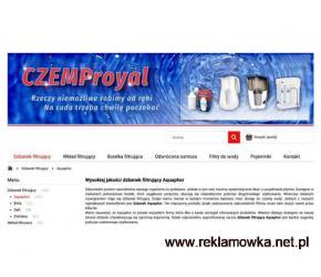 Dzbanki filtrujące - odwrócona osmoza - Warszawa