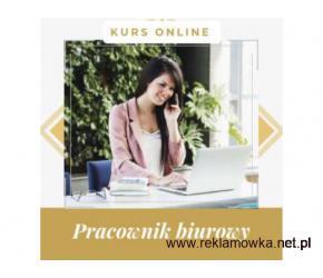 Pracownik biurowy- kurs internetowy. Cała Polska