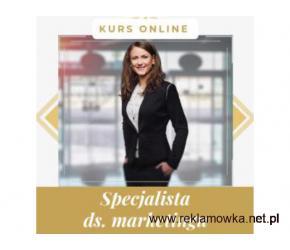 Specjalista ds marketingu kurs online. Cała Polska
