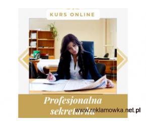 Profesjonalna sekretarka - kurs online. Cała Polska