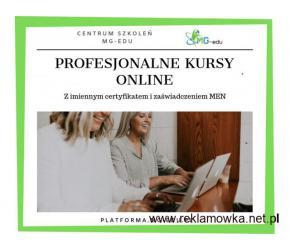 Pracownik administracji samorządowej kurs w całości przez internet