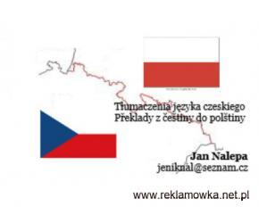 Tłumacz języka czeskiego