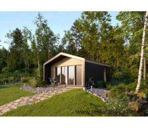 Dom,domek rekreacyjny AlleHouse, całoroczny, drewniany