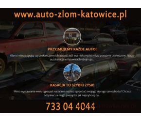 AUTO ZŁOM Katowice, kasacja złomowanie aut - STACJA DEMONTAŻU POJAZDÓW Katowice