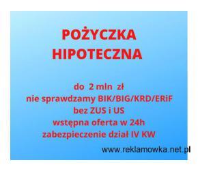 Pozabankowa pożyczka hipoteczna dla firm do 2 mln zł