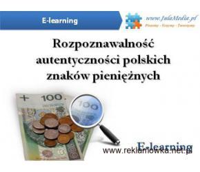 Kurs Rozpoznawanie autentyczności polskich znaków pieniężnych