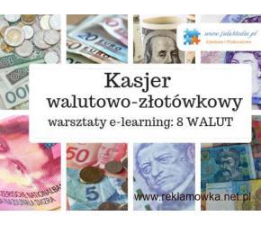 Kurs – Kasjer walutowo-złotówkowy - 8 walut
