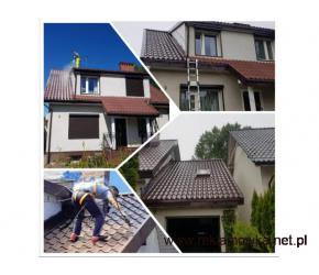 Czyszczenie, malowanie i impregnacja dachów