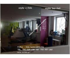 Oklejanie szyb, foliowanie okien, montaż, demontaż folii Warszawa -Tarchomin, Targówek,Praga