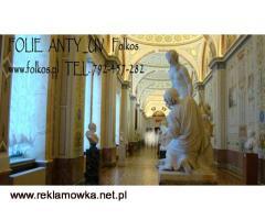 Folie ANTY UV - Warszawa -Folia na witryny sklepowe ,do muzeów ,galerii, atelier....