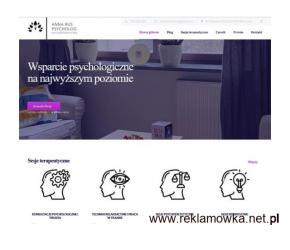 Psycholog, psychoterapeuta Warszawa / on-line