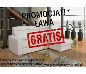 Narożnik MAXIM - Spanie + pojemnik! ŁAWA GRATIS!!!