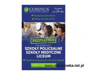 Wybierz BEZPŁATNE szkoły Cosinus. Rekrutacja trwa!