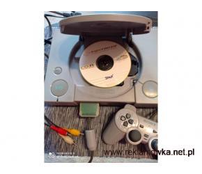 Sony PlayStation PS1 PSX Konsola+Pad PRZEROBIONA