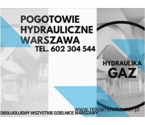 Całodobowe pogotowie hydrauliczne w Warszawie i okolicach