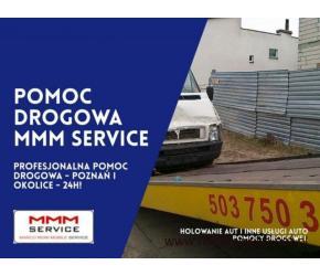 Zawodowa pomoc drogowa z Poznania - MMM Service