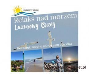 Zapraszamy na pobyt nad morzem do Lazurowego Brzegu w Mielenku!