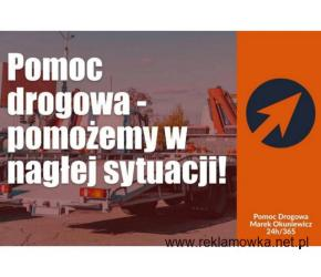 Całodobowa pomoc drogowa - Koszalin i okolice